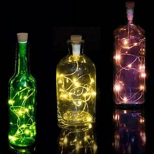 Flasche Mit Lichterkette : lichterkette f r flaschen gadgets und geschenke ~ Lizthompson.info Haus und Dekorationen