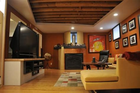 exposed basement ceiling ideas basement exposed ceiling welcome home