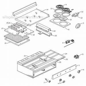 Garland 36er33-99 Parts List And Diagram