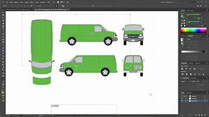 Getting Started With Vector Vehicle Wrap Template And