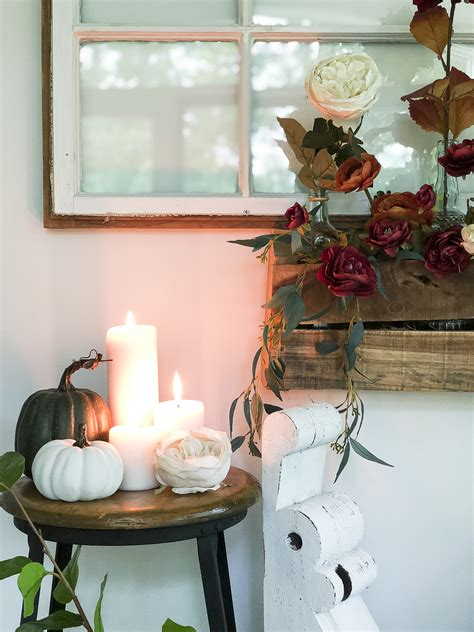 Cozy Fall Decor With Florals  + 12 Fall Home Tours