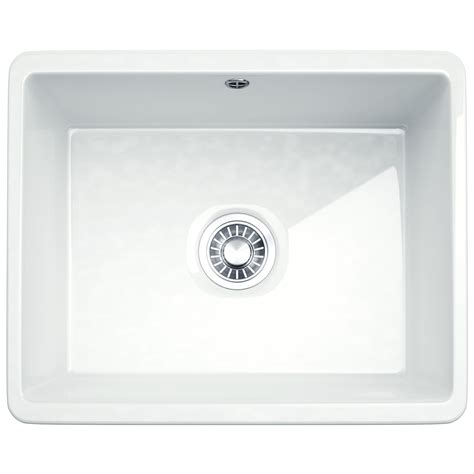 franke ceramic kitchen sinks franke kubus kbk 110 50 ceramic 1 0 bowl undermount 3519