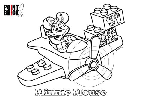 disegni disney da colorare e stare gratis disegni da colorare lego duplo disney minnie mouse