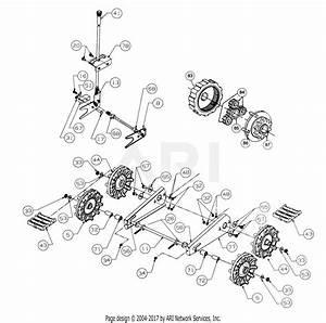 Mtd 316e753f401  1996  Parts Diagram For Track  U0026 Frame
