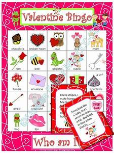 Valentine Bingo Riddles Game | Educational games ...