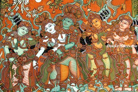 kerala mural artists heritage of india kerala mural paintings క రళ మ య రల