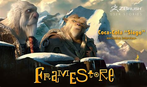 siege coca cola pixologic zbrush zbrush framestore