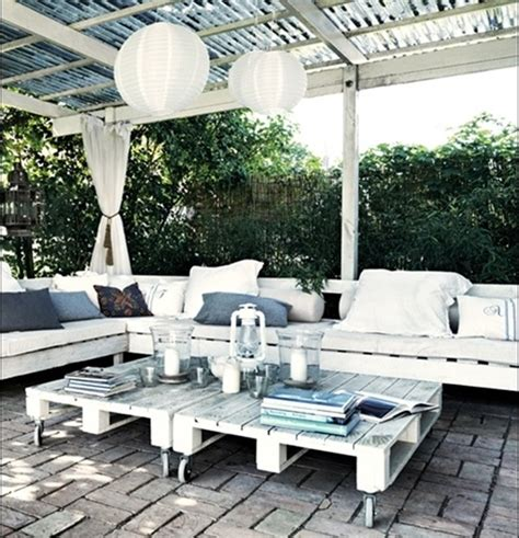 pallet deck furniture cost effective ideas wooden