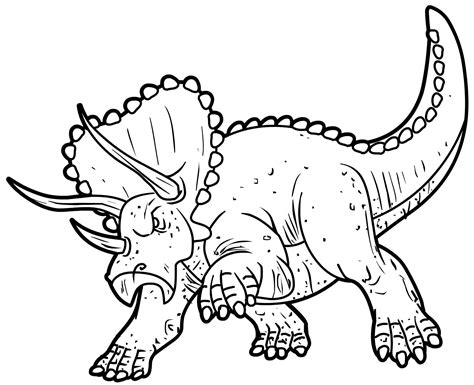Coloring Pages Dinosaurs Ofertasvuelo