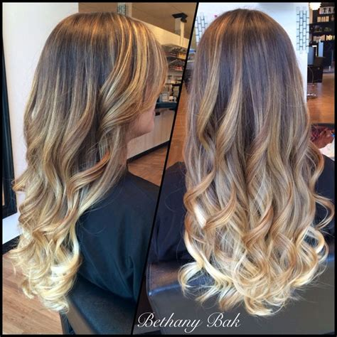 Beautiful Long Hair With An Ombré And Balayage Combination