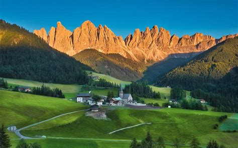 dolomites sunset top facts