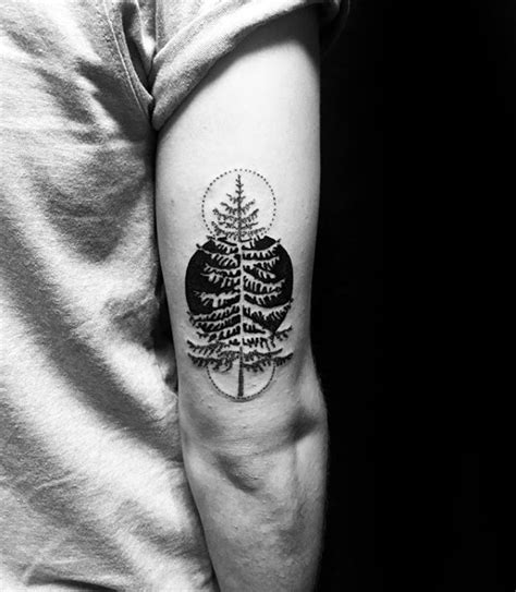 50 Simple Tree Tattoo Designs For Men  Forest Ink Ideas