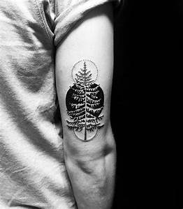 50 Simple Tree Tattoo Designs For Men - Forest Ink Ideas