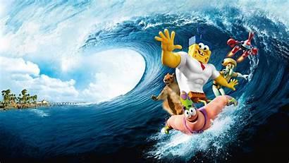 Spongebob Movie Sponge Water Wallpapers Gambar Pantalla