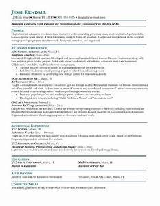 art resume examples free excel templates With cd resume
