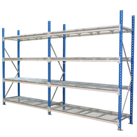 Garage Longspan Shelving by 1800mm Storeman 174 Longspan Shelving With Mesh Decks