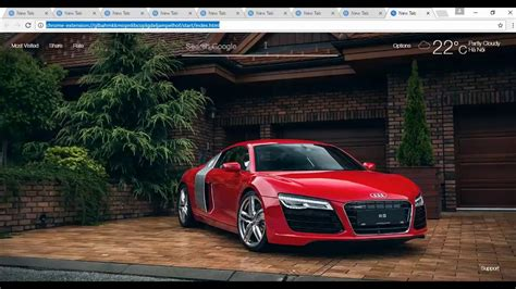 Super Cars Hd Wallpapers New Tab Extension