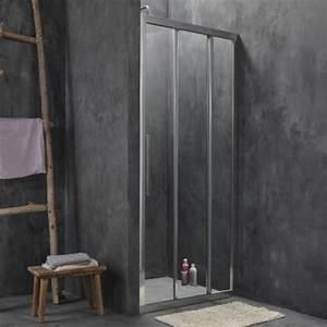 gain de place petite salle de bains 6 conseils a suivre With porte de douche coulissante avec meuble teck salle de bain leroy merlin