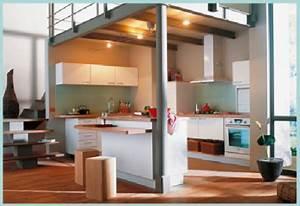 Amenagement petite cuisine 12 idees de cuisine ouverte for Petite cuisine équipée avec meuble contemporain salle a manger