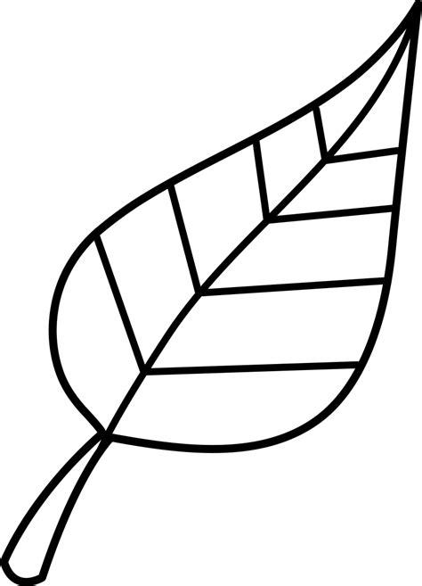 leaf fall leaves clip art black  white clipartion