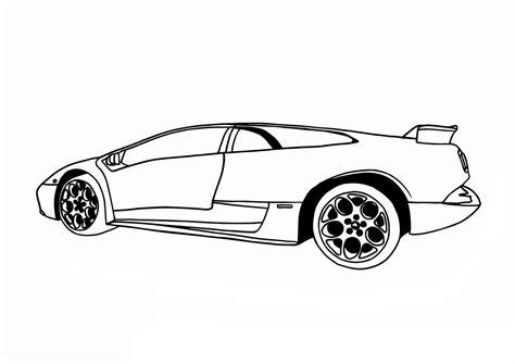 Lamborghini Aventador Coloring Pages Doors Open