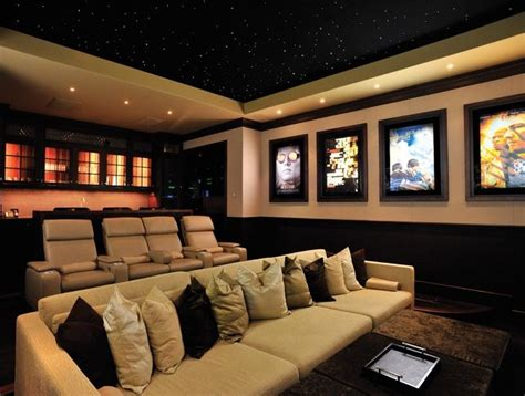 Home Theater Decor Ideas by Simple Basement Home Theater Room Decorating Ideas For