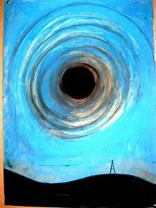 black hole in the blue sky by lukach on deviantART