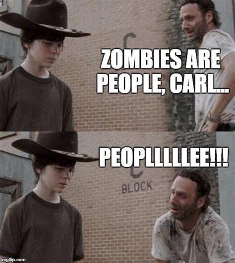 Carl Rick Meme - rick and carl meme imgflip