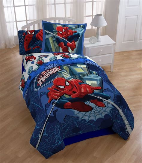 bedroom walmart childrens chairs spiderman bedding set