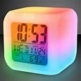Light up color change LED digital alarm clock - GOimprints