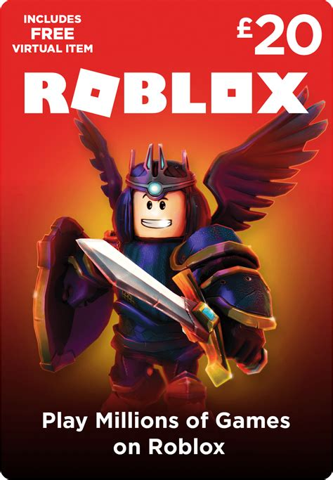 Roblox Gift Card £20 - Game - Startselect.com