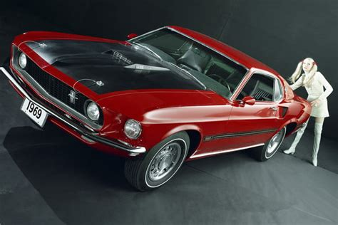ford mustang history timeline pictures specs