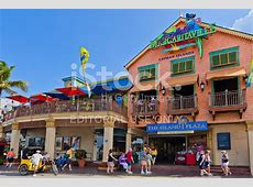 George Town Shopping District, Grand Cayman stock photos