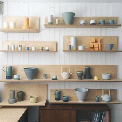 snake ranch vessel ceramic shop kitchen shelves displaying collections