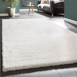 Hochflor Teppich Weiß : shaggy xxl weiss hochflor teppiche ~ Lateststills.com Haus und Dekorationen