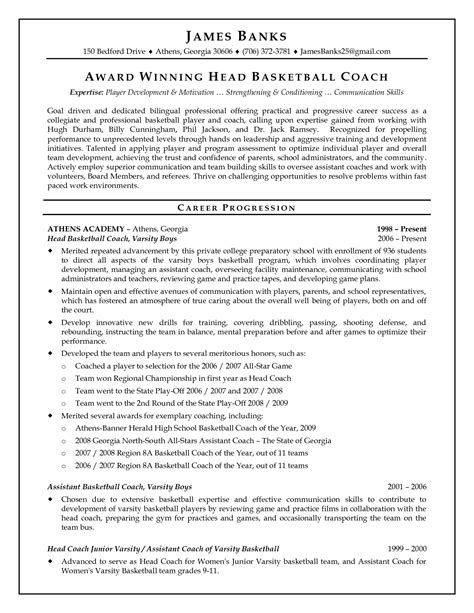 College Basketball Player Resume Sle by 28 Objective Statement For Resume Sle Power Engineering