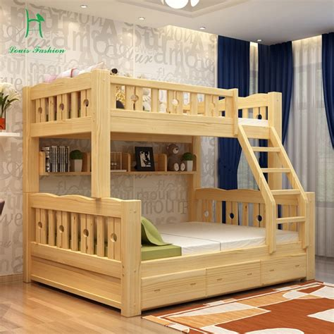 buy solid wood bunk bed children bed wooden bed upper   level students