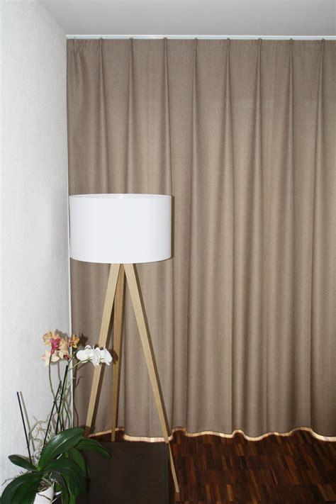 vorhänge kaufen blickdichter vorhang davos weiss beige braun schwarz