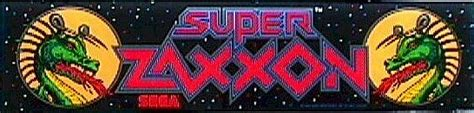 Super Zaxxon Videogame By Sega