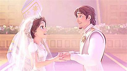 Tangled Disney Flynn Marriage Taught Rapunzel Gifs
