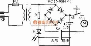 Philips Shaver Circuit Diagram