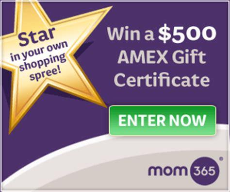 win  amex card  mom