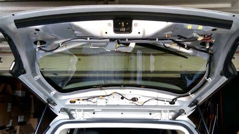 subaru outback   rear gate wiring harness replace