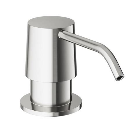 lowes kitchen sink soap dispenser shop vigo kitchen accessories stainless steel soap and 9088