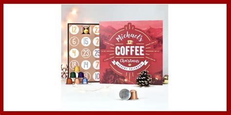 Tea revv yawn coffee advent calendar. personalised-coffee-advent-calendar - Under The Christmas Tree