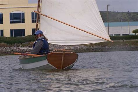 Jaws Cat Boat by Thorne S Chamberlain Dory Skiff Sailing And Event Pics