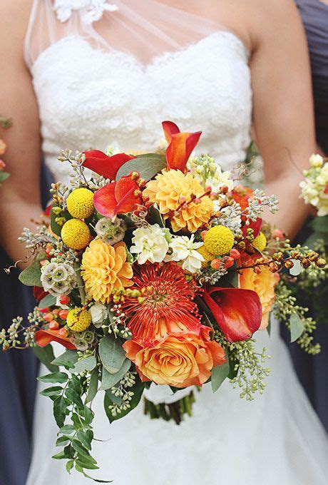 Seasonal Bouquets For A Fall Wedding Future Mrs Henry