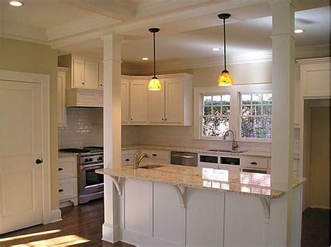 kitchen island with columns pin by davis brown on kitchens to drool