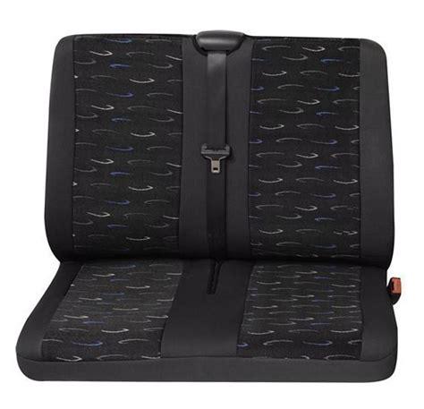housse siege trafic housses pour sièges de voitures 1 x siège derrière renault trafic couleurs gris