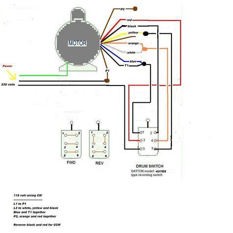 115 230 volt wiring diagram schematic automotive wiring